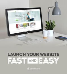 Converio - Launch Your Website Fast and Easy