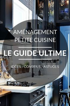 Petite Cuisine: THE Ultimate Guide (tips, advice & ideas to copy) - counter Small Kitchen Plans, Open Kitchen, Diy Kitchen, Kitchen Design, Home Staging Cuisine, Lava, Surface Studio, Garden Deco, Layout