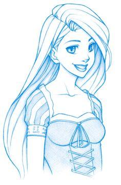 Rapunzel by MGilhang.deviantart.com on @deviantART