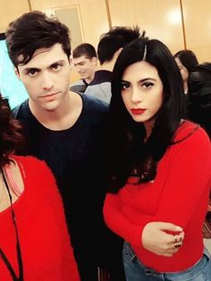 alec lightwood, shadowhunters, and emeraude toubia image