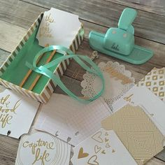 """""""Can not wait to work with these goodies! Finally found this cute stuff at my local store @scrapdelight. Hopefully my spinner by @heidiswapp will arrive soon, cause flipping these cards will make me happy! #sdhappymail #hsmemorydex #heidiswapp #memorydextray #memories #memorydexpunch #memorydexspinner"""" Photo taken by @beautifulchaos1910 on Instagram, pinned via the InstaPin iOS App! http://www.instapinapp.com (10/05/2015)"""