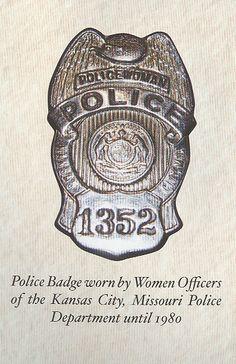 Kansas City Police Department MO Photo 1880s