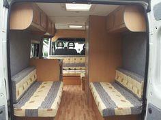 Camper Van Conversions. Top storage?