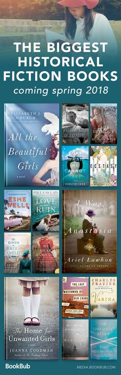 17 Historical Fiction Books You Might've Missed This Spring The biggest historical fiction books to read in spring including some of the best recent history books based on true stories, tales, and more. Books To Read 2018, Best Books To Read, I Love Books, My Books, Best Books Of All Time, Teen Books, Reading Books, Reading Lists, Best Historical Fiction Books