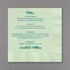 napkins and menus