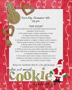 Great ideas for a cookie exchange :) Funky Polkadot Giraffe: Christmas