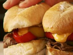 Pawhuska Cheese Steaks : Ree makes Pawhuska Cheese Steaks, a twist on the classic Philly sandwich. via Food Network.