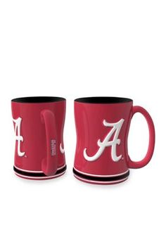 Boelter  14-oz. NCAA Alabama Crimson Tide 2-Pack Relief Sculpted Coffe