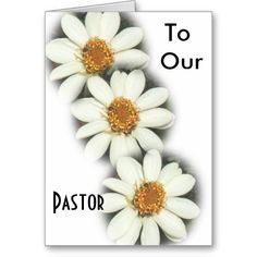 To Our Pastor Greeting Card