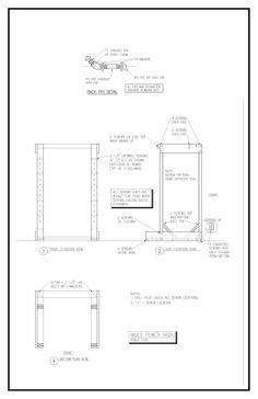 1000 images about garage gym on pinterest garage gym for Power rack design plans