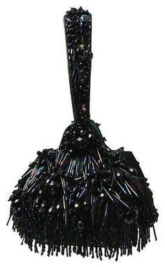 SALE!!   Mary Frances Purse - NWT -Galaxy Black Iridescent Beaded Wristlet
