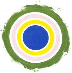 Circle Paintings by Kenneth Noland