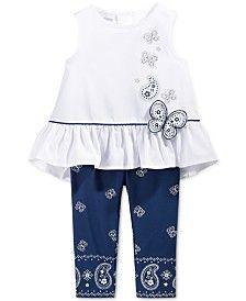 First Impressions Baby Girls' 2-Pc. Peplum Tunic & Leggings Set, Only at Macy's