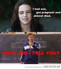Twilight/ Mean Girls humor