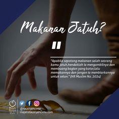 Makanan jatuh? Buang bagian yg kotoryang masih bersih makan aja . Follow @hijrahcinta_ Follow @hijrahcinta_ . . #hijrahcinta https://ift.tt/2f12zSN