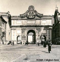 Porta del Popolo 1895