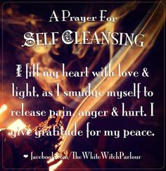 A Prayer for Self Cleansing | Witches Of The Craft®