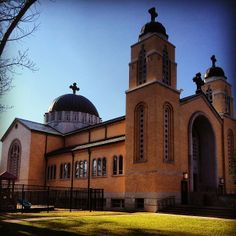 """Holy Trinity Greek Orthodox Church, Charlotte, NC   """"For there are three that bear record in heaven, the Father, the Word, and the Holy Ghost: and these three are one"""" (1 John 5:7)"""