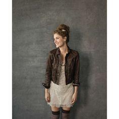 1950's - inspired Kara leather jacket
