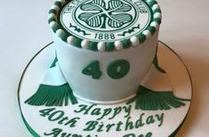 Image result for celtic football club cake