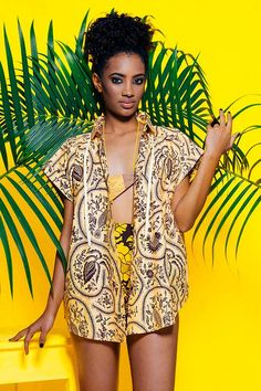 Nyumbani Design, Tanzania // Yellow Spaces Collection (AW14/15)