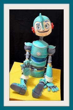 Robotok torta