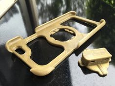 Snap Lock iPhone 6 Bike Mount by GregFrost - Thingiverse