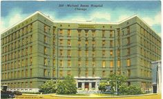 Michael Reese Hospital, Chicago, 1940s