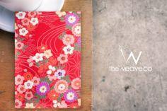 Japanese Fabric Card 06