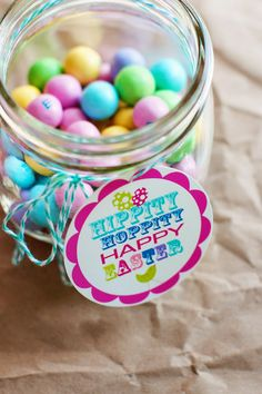 Hippity Hoppity Easter DIY Printable Labels on FamilyFreshCooking.com ©Marla Meridith Photography #Freebie #free #chocolate