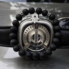 Mcllroy Black Matte Beaded Bracelet Energy Stone Bracelet Hamsa Hand Bangle Charm Yoga Mala Bracelets With CZ Stoppers