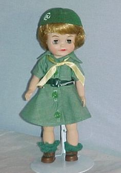 Girl Scout Doll 1960's