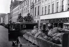 Fallschirmjäger in the Norwegian capital Oslo, April 9th 1940. The day Wehrmacht occupied the country.