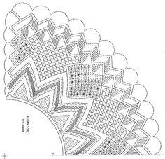 Archivo de álbumes Bobbin Lace Patterns, Sketch, Bobbin Lace, Carpet, Cakes, Bolo Tie, Hearts Of Palms, Hand Fans, Ties
