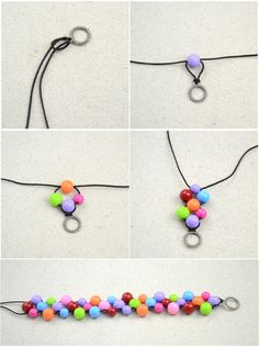 How to bead a woven bead bracelet. Handmade Beaded Bracelets Out Of Affordable Jewelry Making Materials - Step 2