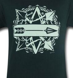 Arrow Starling City Symbol T-Shirt http://www.superherostuff.com/green-arrow/t-shirts/arrow-starling-city-symbol-t-shirt.html?itemcd=tsarrowstarcity