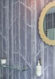 cole and son birch tree wallpaper - Google Search