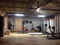 Super massive box garage gym