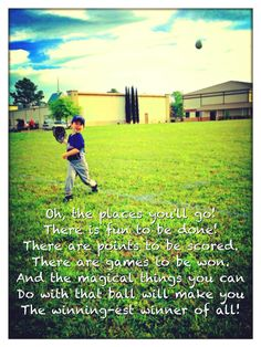 Dr. Seuss baseball quote.