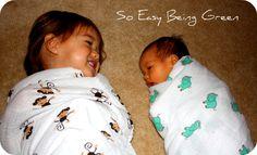 Swaddled big sister and little sister :) pic idea @Alisha Call