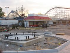 Bell's amusement park, Tulsa, OK,  being torn down to put up a parking lot