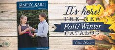 Check out the Fall/Winter 2014 Catalog !! www.mysimplysaiddesigns.com/ivy
