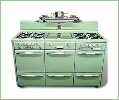 60 Ideas For Kitchen Retro Decor Vintage Stoves
