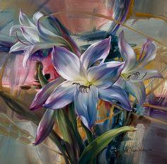 Galería de Cuadros con Flores Modernas, Vie Dunn Harr, EEUU | Imágenes Arte Temático