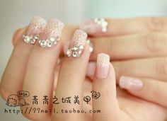 Aliexpress.com : Buy Pink diamond ! 24 false nail art from Reliable matte nail polish suppliers on Jessie's shop. $7.39
