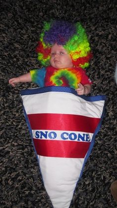 Baby Halloween Costumes Even More Delicious Than Candy -  Sno Cone