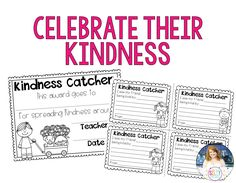 Random Acts of Kindness {Promoting Kindness in the Primary Classroom...certificates to celebrate kiddos that are being kind, and for them to recognize each other