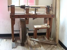 Treadle Lathe Designs | The Renaissance Woodworker