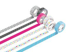 The happy family. The new tesa® Deco Tapes. Available in six different colours and patterns!