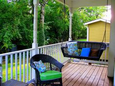 Make your porch an outdoor retreat